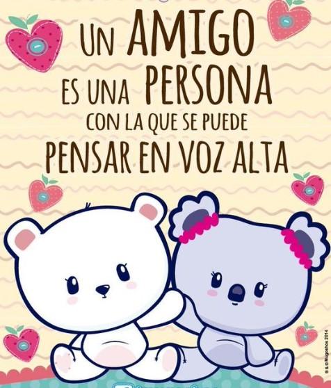 Un amigo es una persona con la que se puede pensar en voz alta