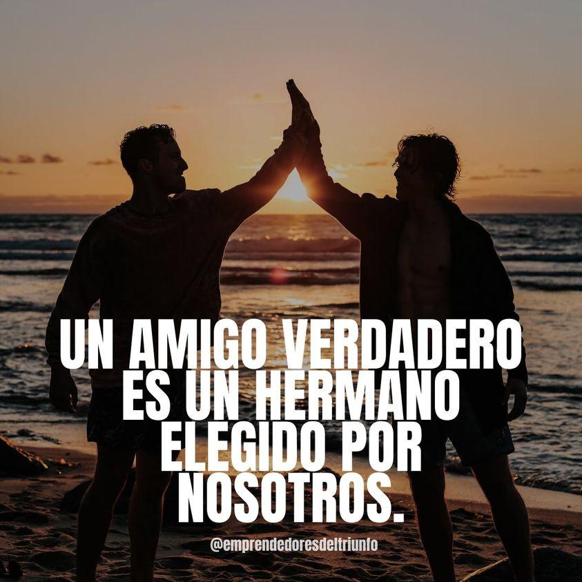 Un amigo verdadero es un hermano